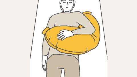 RM4-H 仰臥位の上肢サポート