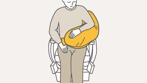 RM4-H 座位の上肢サポート