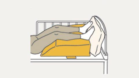RM6-H 下肢挙上のサポート