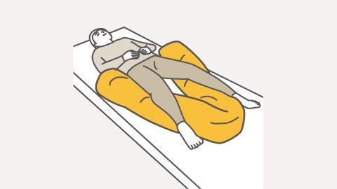 スネーク 下肢のサポート